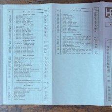 Scalextric: SCALEXTRIC, TARIFA DE PRECIOS AÑO 1978 NOVIEMBRE. Lote 122971555