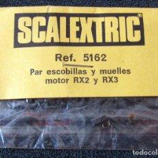 Scalextric: SCALEXTRIC - EXIN - PAR ESCOBILLAS Y MUELLES PARA MOTOR RX2 Y 3X3 - REF 5162 - SIN ABRIR. Lote 123264259