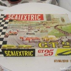 Scalextric: SCALEXTRIC EXIN CAJA GT 25 DE LOS MERCEDES 250 SL MEJOR VER FOTOS . Lote 124499759