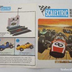 Scalextric: CATALOGO SCALEXTRIC MODEL MOTOR RACING 1969. Lote 124596127