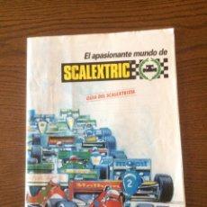 Scalextric: LIBRILLO GUÍA DEL SCALEXTRISTA. Lote 125070598