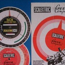Scalextric: DISCOS VELOCIDAD SCALEXTRIC. Lote 126629319