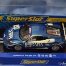 Scalextric: FERRARI F340 GT DE SUPERSLOT. Lote 127476127