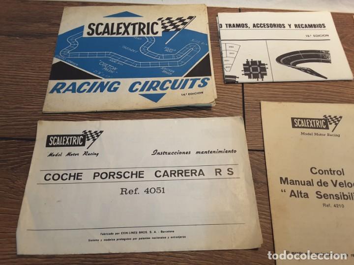 Scalextric: Lote folletos de Scalextric, años 70-80 - Foto 2 - 131618786
