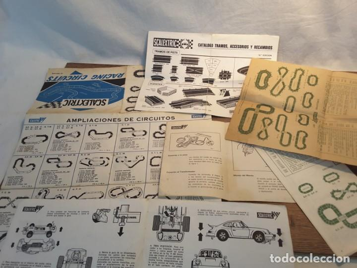 Scalextric: Lote folletos de Scalextric, años 70-80 - Foto 4 - 131618786
