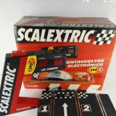 Scalextric: CUENTAVUELTAS ELECTRONICO EVO 1 SCALEXTRIC 8803. Lote 132547946