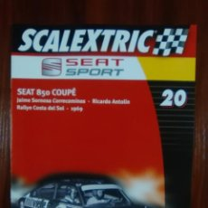 Scalextric: SCALEXTRIC - COLECCIONABLE ALTAYA - NUMERO 20 - SEAT SPORT - SEAT 850 COUPE. Lote 133641770