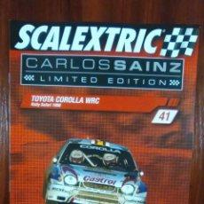 Scalextric: SCALEXTRIC - COLECCIONABLE ALTAYA - CARLOS SAINZ - NUMERO 41 - TOYOTA COROLLA WRC. Lote 133645414