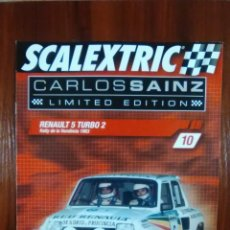Scalextric: SCALEXTRIC - COLECCIONABLE ALTAYA - CARLOS SAINZ - NUMERO 10 - RENAULT 5 TURBO 2. Lote 133646910