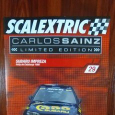 Scalextric: SCALEXTRIC - COLECCIONABLE ALTAYA - CARLOS SAINZ - NUMERO 29 - SUBARU IMPREZA. Lote 133808242