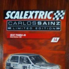 Scalextric: SCALEXTRIC - COLECCIONABLE ALTAYA - CARLOS SAINZ - NUMERO 14 - SEAT PANDA 45. Lote 133808482