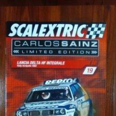 Scalextric: SCALEXTRIC - COLECCIONABLE ALTAYA - CARLOS SAINZ - NUMERO 19 - LANCIA DELTA HF INTEGRALE. Lote 133809390