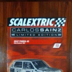 Scalextric: SCALEXTRIC - COLECCIONABLE ALTAYA - CARLOS SAINZ - NUMERO 15 - SEAT PANDA 45. Lote 133813562