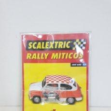 Scalextric: SCALEXTRIC RALLY MÍTICOS SEAT 600 FASCÍCULO 43 MOTOR Y ESCOBILLAS. Lote 133914085