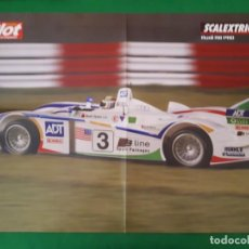 Scalextric: POSTER AUDI R8 PRO SCALEXTRIC – MAS SLOT. Lote 133931630