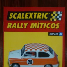 Scalextric: SCALEXTRIC - RALLY MITICOS - COLECCION ALTAYA - SEAT 600 - NUMERO 44. Lote 134084810