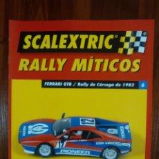Scalextric: SCALEXTRIC - RALLY MITICOS - COLECCION ALTAYA - FERRARI GTB - NUMERO 6. Lote 134085526