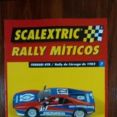 Scalextric: SCALEXTRIC - RALLY MITICOS - COLECCION ALTAYA - FERRARI GTB - NUMERO 7. Lote 134085642