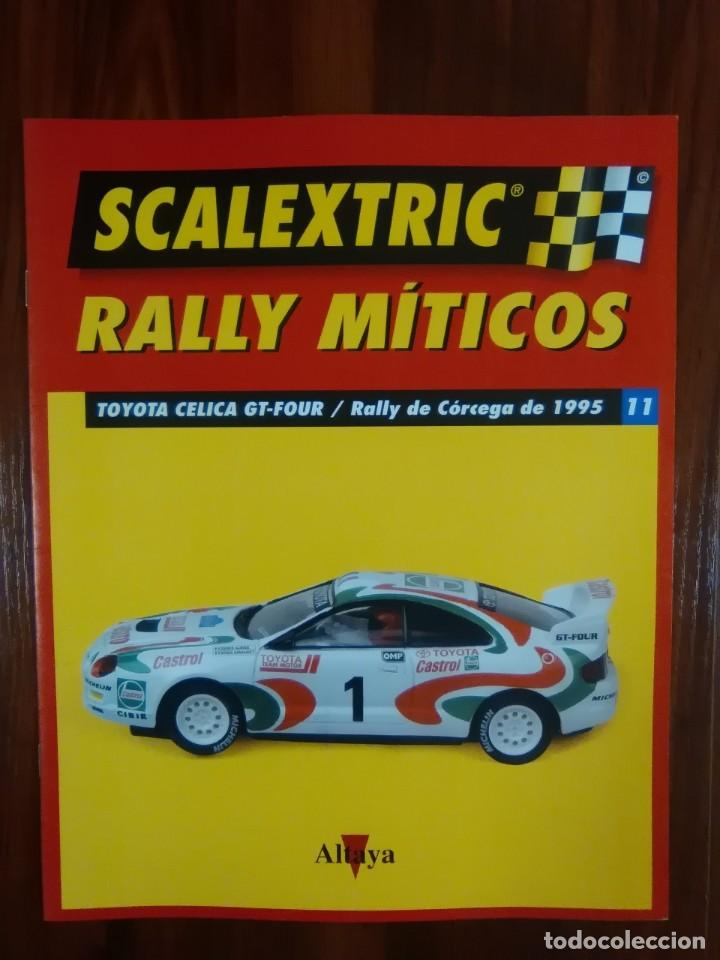 Scalextric: SCALEXTRIC - RALLY MITICOS - COLECCION ALTAYA - TOYOTA CELICA GT-FOUR - NUMERO 11 - Foto 1 - 134086270