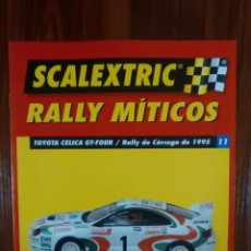 Scalextric: SCALEXTRIC - RALLY MITICOS - COLECCION ALTAYA - TOYOTA CELICA GT-FOUR - NUMERO 11. Lote 134086270