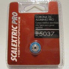 Scalextric: CORONA PRO DE ALUMINIO 26D NUEVA SCX PRO. Lote 134345966