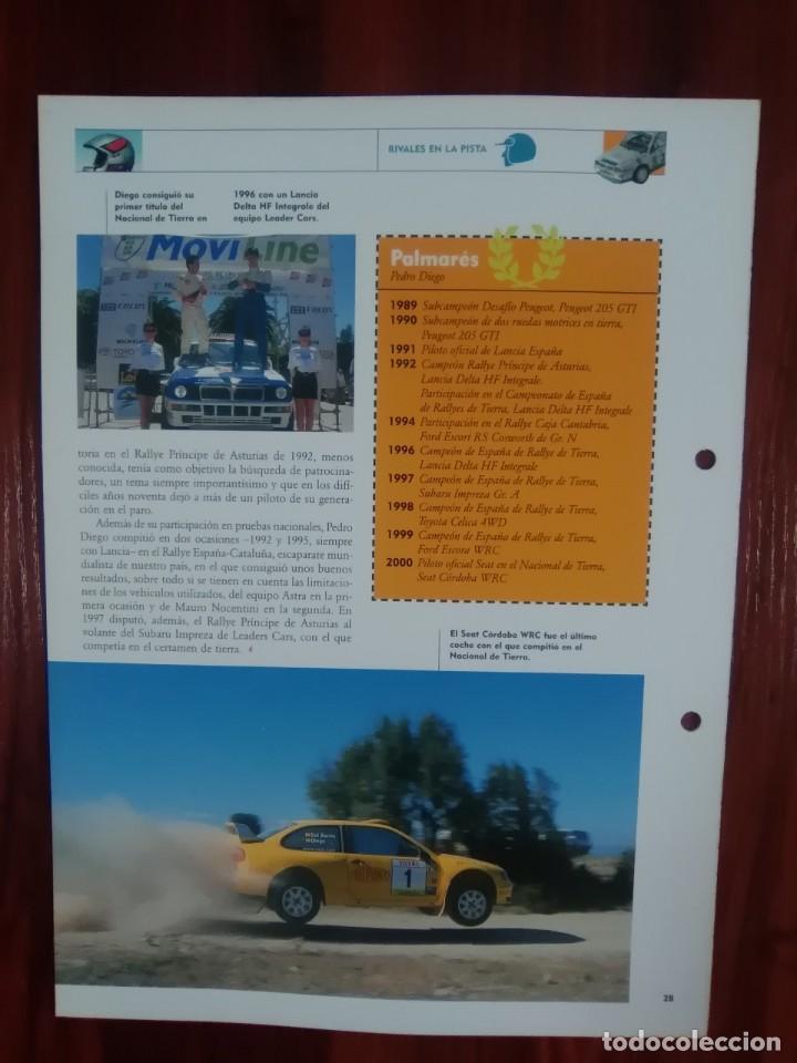 Scalextric: SCALEXTRIC - RALLYES DE ESPAÑA - COLECCION ALTAYA - NUMERO 7 - LANCIA DELTA INTEGRALE - Foto 2 - 134401338