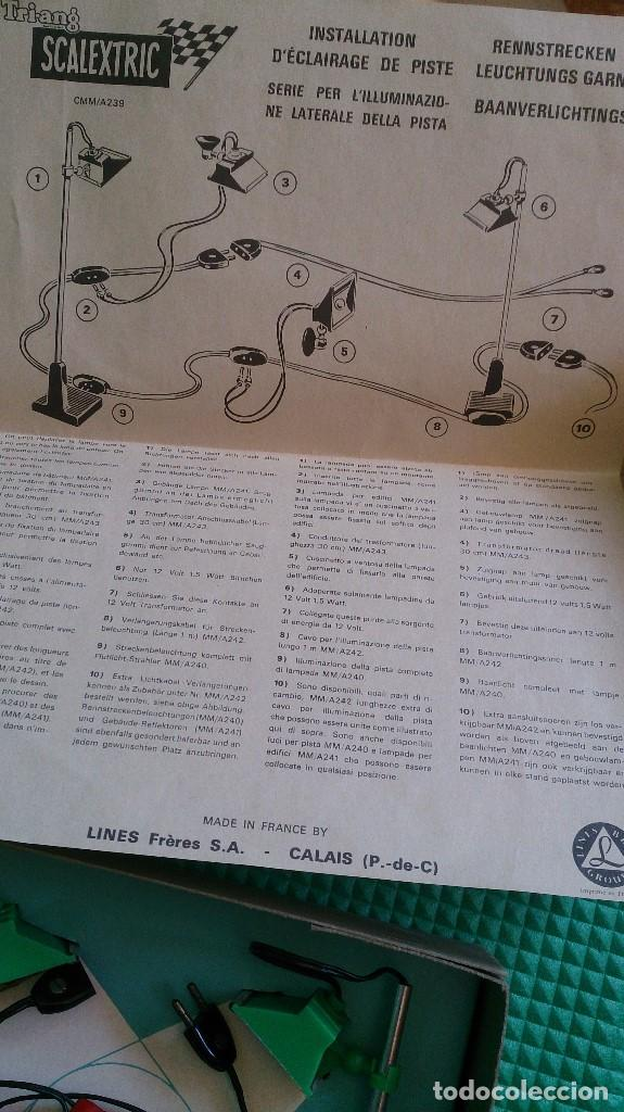 Scalextric: JUEGO LUCES SCALEXTRIC TRI-ANG - Foto 5 - 135434738