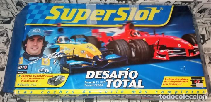 Circuito Fernando Alonso Precio : Circuito scalextric fernando alonso super slot vendido en subasta