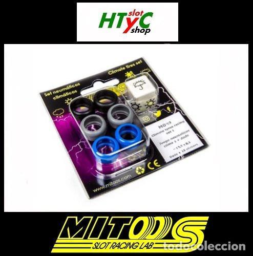 CARTRIX MITOOS NEUMATICOS CLIMA MAS DADO M049 (Juguetes - Slot Cars - Scalextric Pistas y Accesorios)