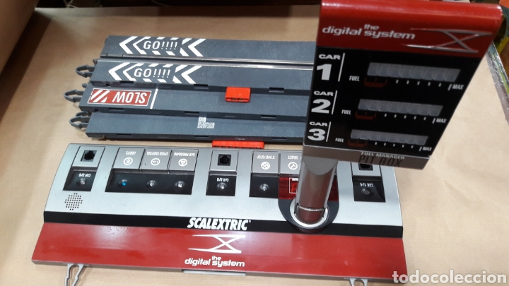 PIT BOX DIGITAL SYSTEM SCALEXTRIC (Juguetes - Slot Cars - Scalextric Pistas y Accesorios)