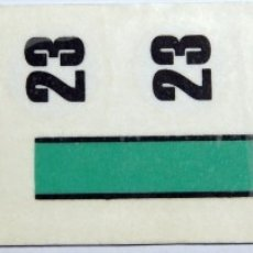 Scalextric: PORSCHE 917 RAYA AZUL CLARA CALCAS AL AGUA SCALEXTRIC EXIN. Lote 195275605