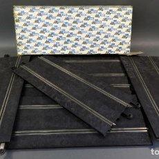 Scalextric: 6 TRAMOS PISTAS RECTAS 350 MM SCALEXTRIC EXIN TRIANG CON CAJA AÑOS 70. Lote 140726758