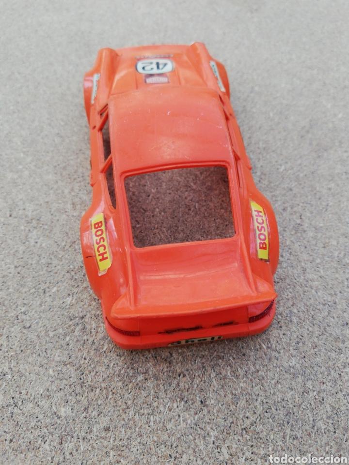 Scalextric: Coche Scalextric carroceria porche naranja rs - Foto 3 - 141082420