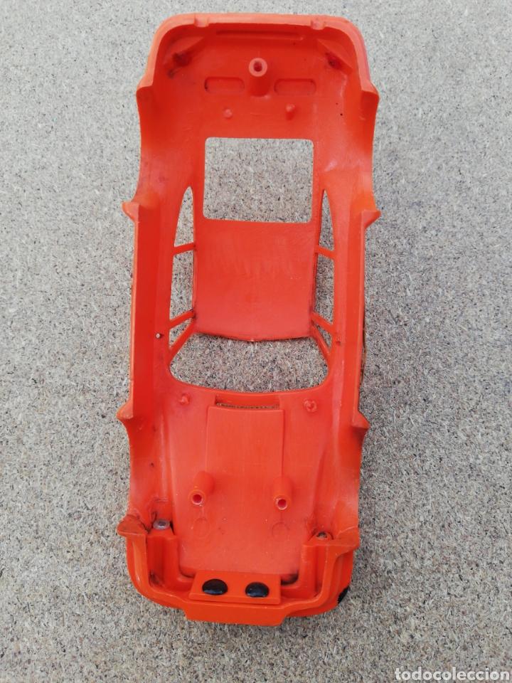 Scalextric: Coche Scalextric carroceria porche naranja rs - Foto 4 - 141082420