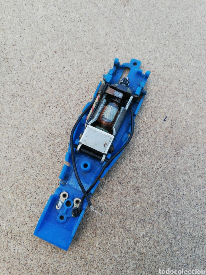 COCHE SCALEXTRIC CHASIS Y MOTOR TYRRELL (Juguetes - Slot Cars - Scalextric Pistas y Accesorios)
