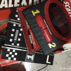 Scalextric: CONTADOR DE TIEMPOS ELECTRONICO DIGITAL CON VUELTA RÁPIDA ETC SCALEXTRIC EN SU CAJA COMO NUEVO. Lote 218631251