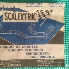 Scalextric: CIRCUITOS SCALEXTRIC SEGUNDA EDICION. Lote 142180806