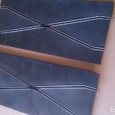 Scalextric: PISTA CRUCE SCALEXTRIC TRI-ANG TIPO RUBBER. Lote 142184726