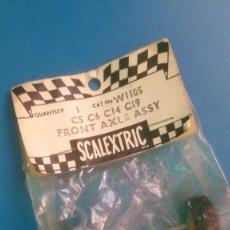 Scalextric: EJE DELANTERO SCALEXTRIC PARA C5 C6 C14 C19 W1105. Lote 142588998
