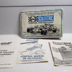 Scalextric - Lote 4 catálogos originales Scalextric - 143220850