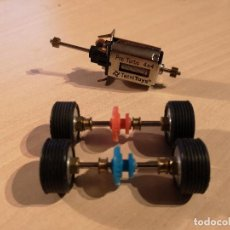 Scalextric: SCALEXTRIC EJES Y MOTOR PRO TURBO 4X4   TECNITOYS   TREN RUEDAS   COMPETICION. Lote 143537150