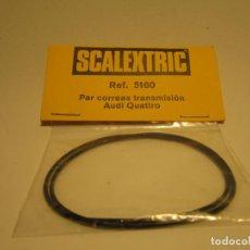 Scalextric: CORREAS DE TRANSMISION NUEVAS AUDI QUATTRO SCALEXTRIC EXIN. Lote 143939610