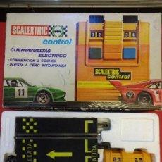 Scalextric: SCALEXTRIC EXIN. CUENTAVUELTAS ELÉCTRICO. Lote 145151070