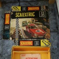 Scalextric: CIRCUITO TC 35 SEAT 850 SCALEXTRIC EXIN PARA RESTAURAR. Lote 145607141