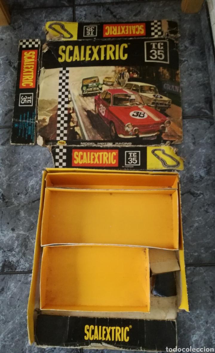Scalextric: Circuito tc 35 seat 850 scalextric exin para restaurar - Foto 2 - 145607141
