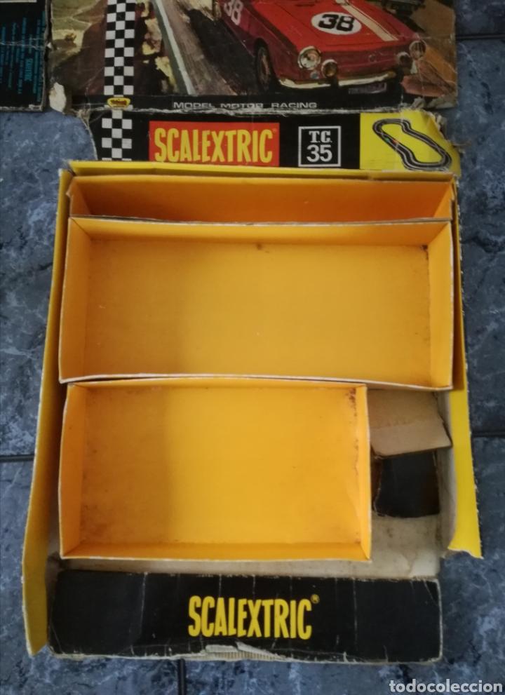 Scalextric: Circuito tc 35 seat 850 scalextric exin para restaurar - Foto 3 - 145607141