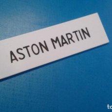Scalextric: LETRERO CASETA A/202 A/303 ASTON MARTIN SCALEXTRIC TRI-ANG. Lote 146556486