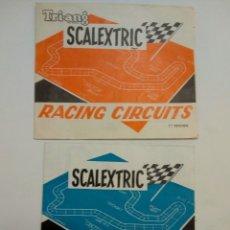 Scalextric: RACING CIRCUITS 7ª Y 14ª EDICIÓN SCALEXTRIC EXIN. Lote 147690722