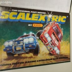 Scalextric - J- CATALOGO ENCUADERNADO 31 X 21.5 CMS SCALEXTRIC 25 TH EDITION 1984 35 PAG Nº 40 - 147913670