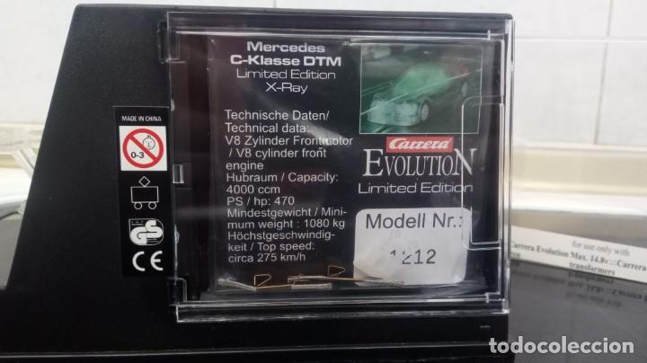 Scalextric: MERCEDES DTM C KLASE CARRERA TRANSPARENTE NO SCALEXTRIC NO NINCO NO EXIN NO TYCO - Foto 5 - 157268741